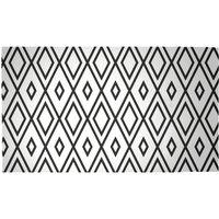 Repeat Diamond Woven Rug - Medium