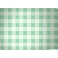 Baking Blanket Green Woven Rug - Large