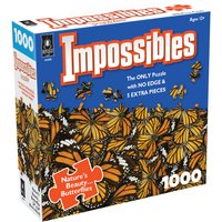 Impossible Puzzles - Butterfly Kisses Jigsaw Puzzle