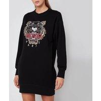 KENZO Women's Classic Tiger Sweatshirt Dress - Black - S