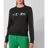 KENZO Women's Multicolour Classic Jumper - Stone Grey - M