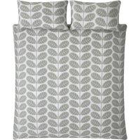 Orla Kiely Botanica Stem Duvet Cover - Grey - Super king