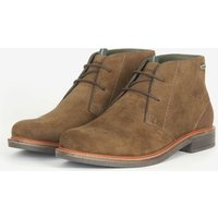 Barbour Mens Readhead Suede Desert Boots - Olive - UK 10