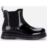 Tommy Hilfiger Girls Chelsea Boot Black Black - UK 12 Kids