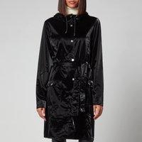 Rains Curve Jacket - Velvet Black - L/XL