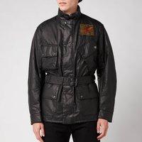 Barbour X Steve McQueen Mens Vintage Joshua A7 Casual Jacket - Black - S