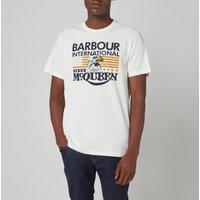 Barbour X Steve McQueen Men's Eagle T-Shirt - Whisper White - S