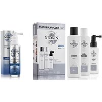 NIOXIN 3-Part System 1 Trial Kit for Natural Hair with Light Thinning Kit