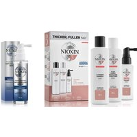 NIOXIN 3-Part System 3 Trial Kit for Coloured Hair with Light Thinning Kit
