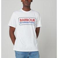 Barbour International Men's Event Logo T-Shirt - White - XL