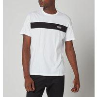 Barbour International Mens Accelerator Panel T-Shirt - White - M