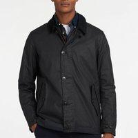 Barbour Mens Commuter Wax Jacket - Navy - S