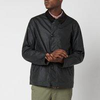 Barbour Mens Commuter Wax Jacket - Sage - L