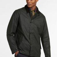 Barbour Mens Commuter Wax Jacket - Sage - XL