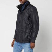 Barbour Mens Century Wax Jacket - Navy - XXL