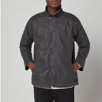 Barbour Mens Rigg Wax Jacket - Charcoal - S