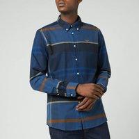 Barbour Mens Iceloch Tailored Shirt - Midnight Tartan - M