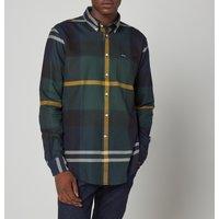 Barbour Mens Dunoon Tailored Shirt - Seaweed Tartan - XXL