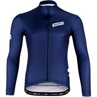 Navy Stealth Thermoactive Long Sleeve Jersey - M