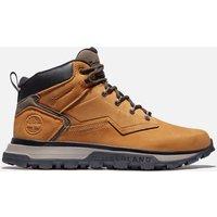 Timberland Men's Treeline Mid Waterproof Leather Hiking Boots - Wheat - UK 9