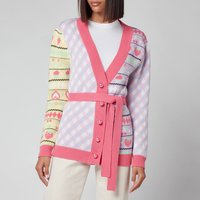 Olivia Rubin Womens Hillary Belted Fitted Cardigan -