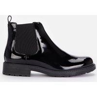 Clarks Womens Orinoco 2 Lane Patent Chelsea Boots - Black - UK 6