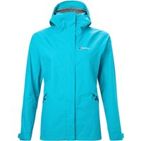 Womens Alluvion Waterproof Jacket - Turquoise - 12