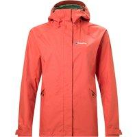 Womens Alluvion Waterproof Jacket - Orange - 18