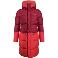 Womens Combust Reflect Long Down Insulated Jacket - Red - 12