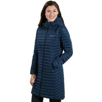 Womens Nula Micro Long Insulated Jacket - Blue - 18