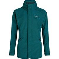 Womens Highland Ridge Interactive Waterproof Jacket - Green