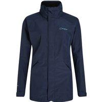 Womens Highland Ridge Interactive Waterproof Jacket - Blue -