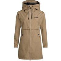 Womens Rothley Waterproof Jacket - Beige - 8