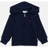 Polo Ralph Lauren Babys Hooded Top - Cruise Navy - 12 Months