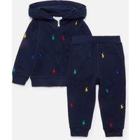 Polo Ralph Lauren Baby Hoodie And Leggings Set - Newport Navy - 12 Months