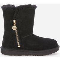 UGG Kids' Bailey Zip Short Boots - Black - UK 13 Kids