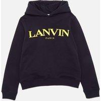 Lanvin Boys' Hooded Sweatshirt - Navy - 10 Years