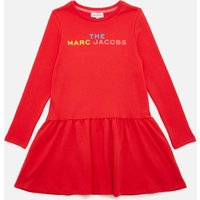 The Marc Jacobs Girls' Snow Day In New-York Logo Dress - Red - 12 Years