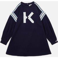 KENZO Girls Logo Dress - Electric Blue - 10 Years