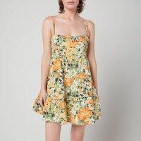 Faithfull The Brand Women's Octavia Mini Dress - Pilotta Floral Print - M