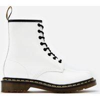 Dr. Martens Women's 1460 Patent Lamper 8-Eye Boots - White - UK 3