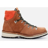 PS Paul Smith Mens Ash Suede Hiking Style Boots - Tan - UK 7