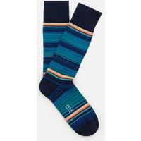 PS Paul Smith Men's Tanka Stripe Socks - Blue
