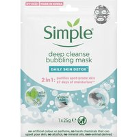 Simple Daily Skin Detox Deep Cleanse Bubbling Mask