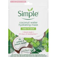 Simple Kind To Skin Coconut Water Hydrating Mask