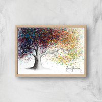 The Colour Of Dreams Giclee Art Print - A4 - Wooden Frame