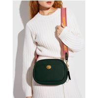 Coach Women's Soft Pebble Leather Camera Bag - Amazon Green