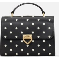 Kate Spade New York Women's Lovitt Dot Printed Leather - Top Handle Bag - Black Multi