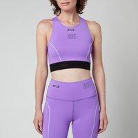 MSGM ActiveWomen's Sports Bra - Purple - XS