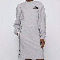 BOSS X Russell Athletic Womens Eyona Dress - Silver - XS